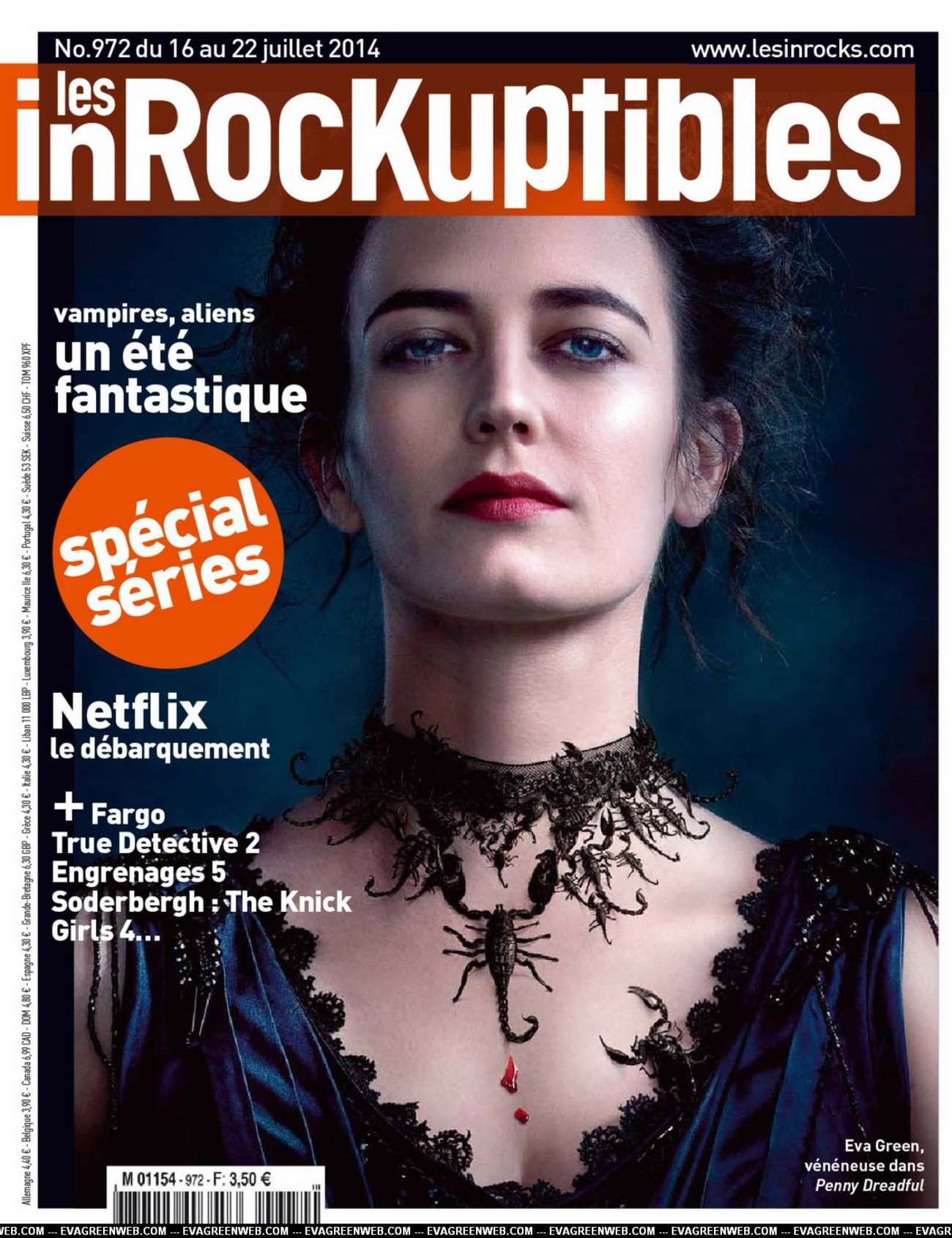 Eva Green Les Inrocks France Magazine