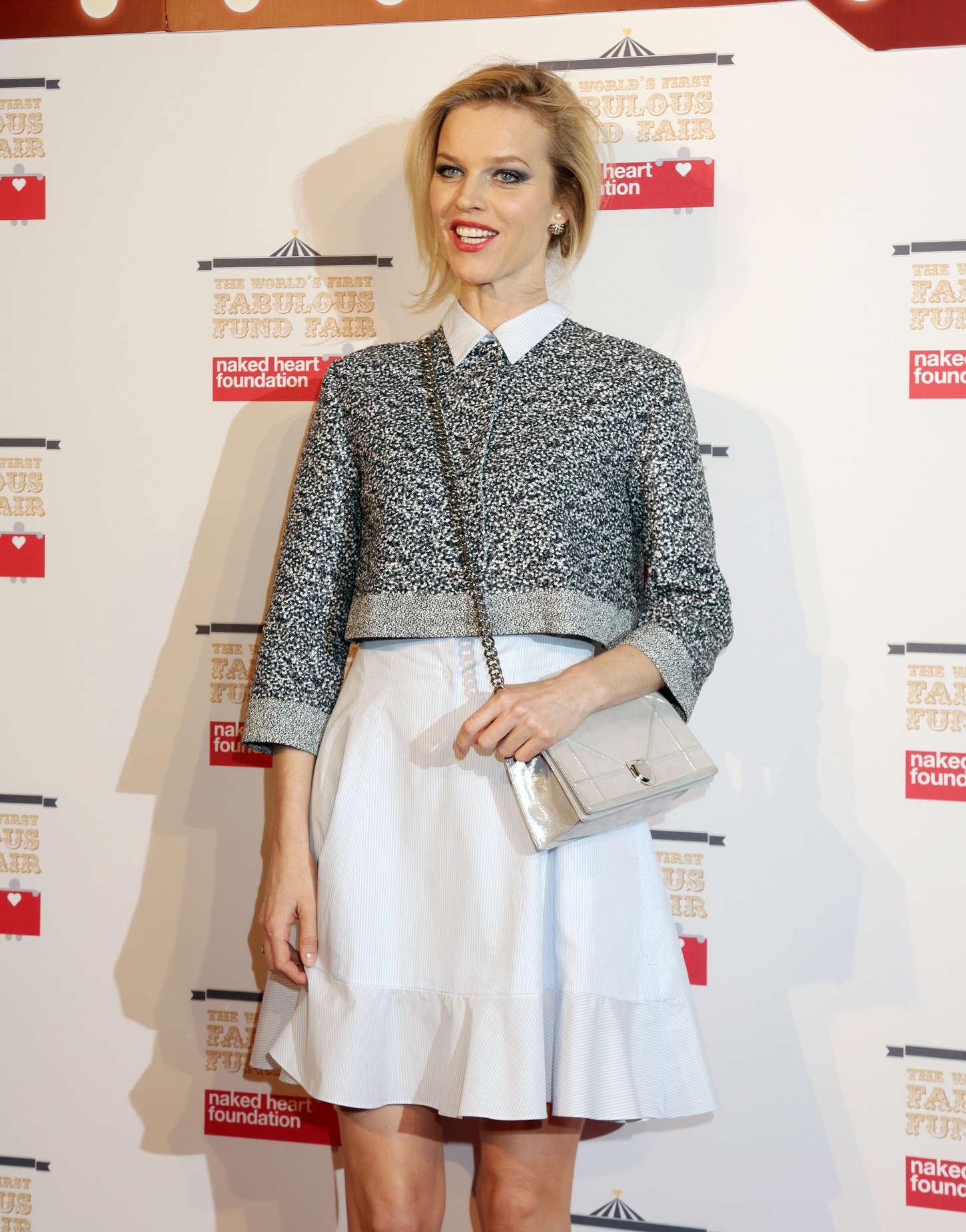 Eva Herzigova Elle Style Awards in London