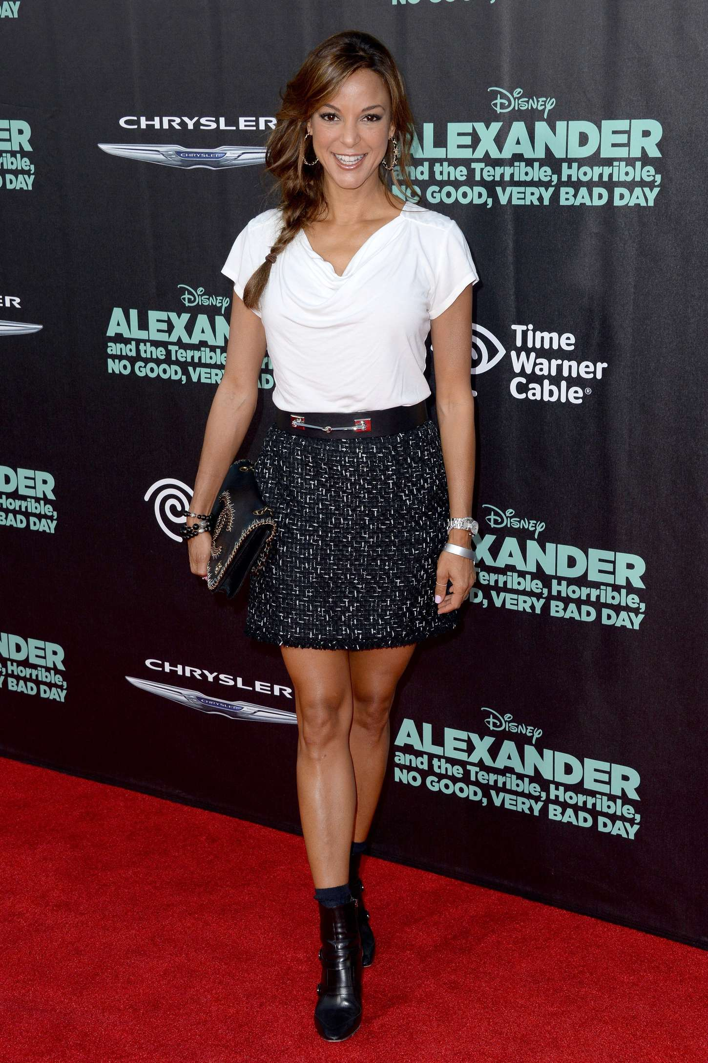 Eva LaRue Alexander And The Terrible Horrible No Good Very Bad Day Premiere in Hollywood