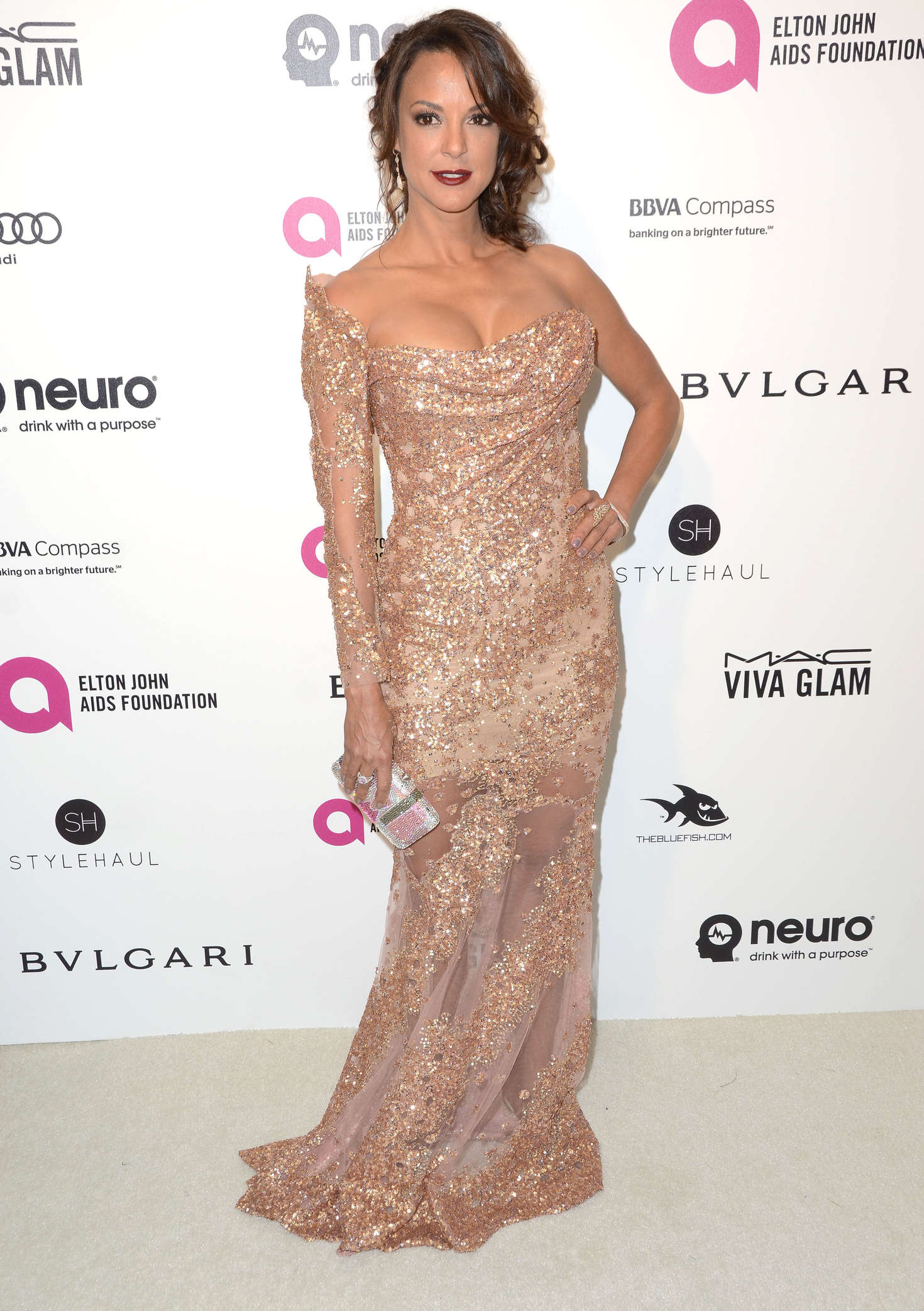 Eva LaRue Elton John AIDS Foundations Oscar Viewing Party in West Hollywood