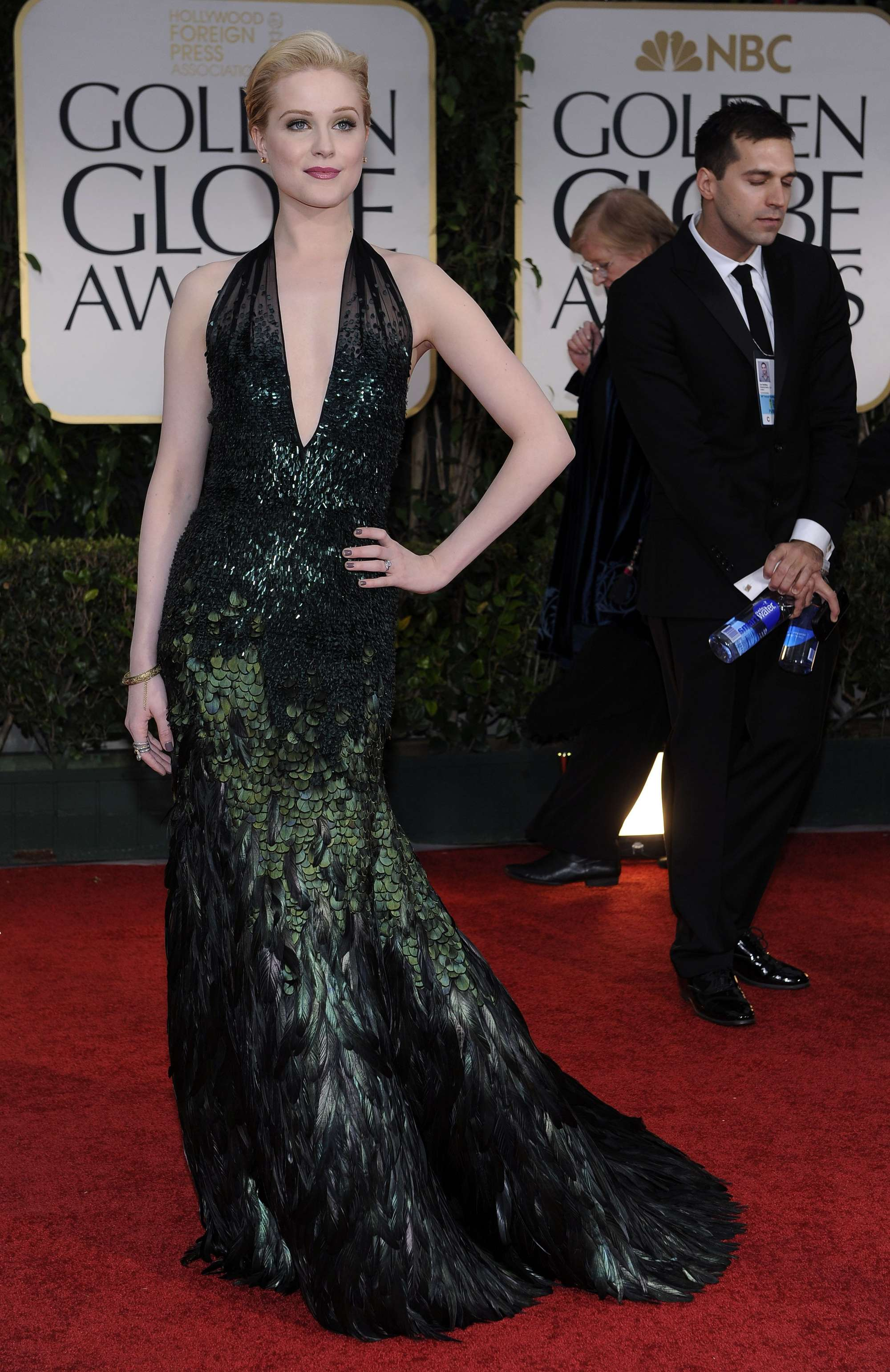 Evan Rachel Wood Annual Golden Globe Awards in Beverly Hills