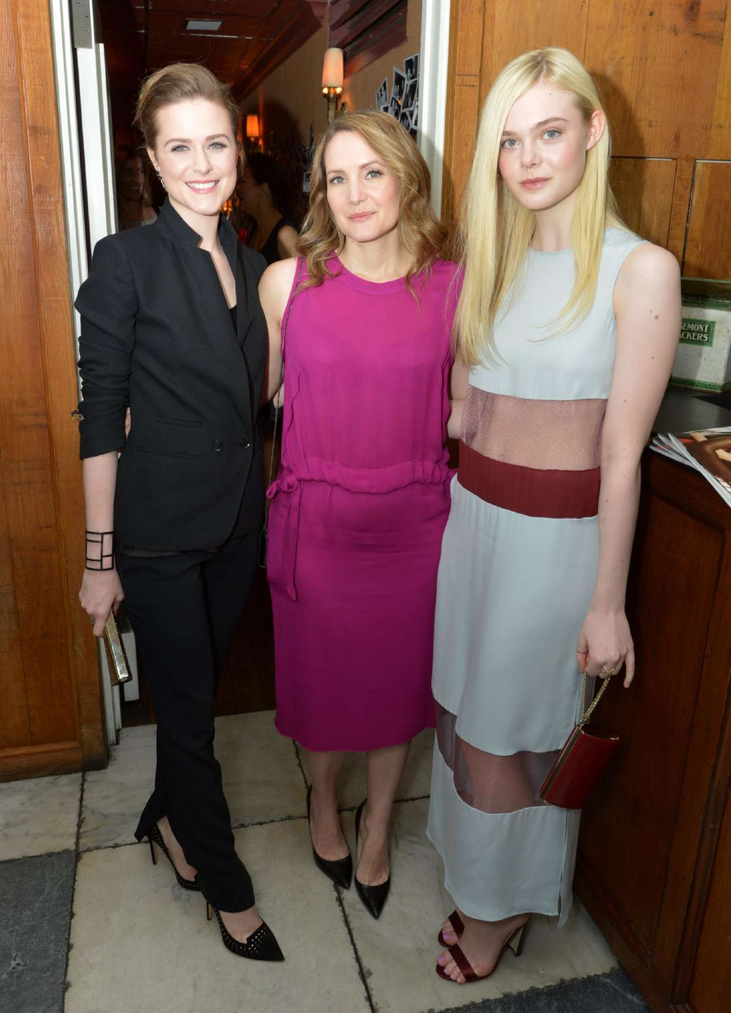 Evan Rachel Wood Most Powerful Stylists Celebration in Los Angeles