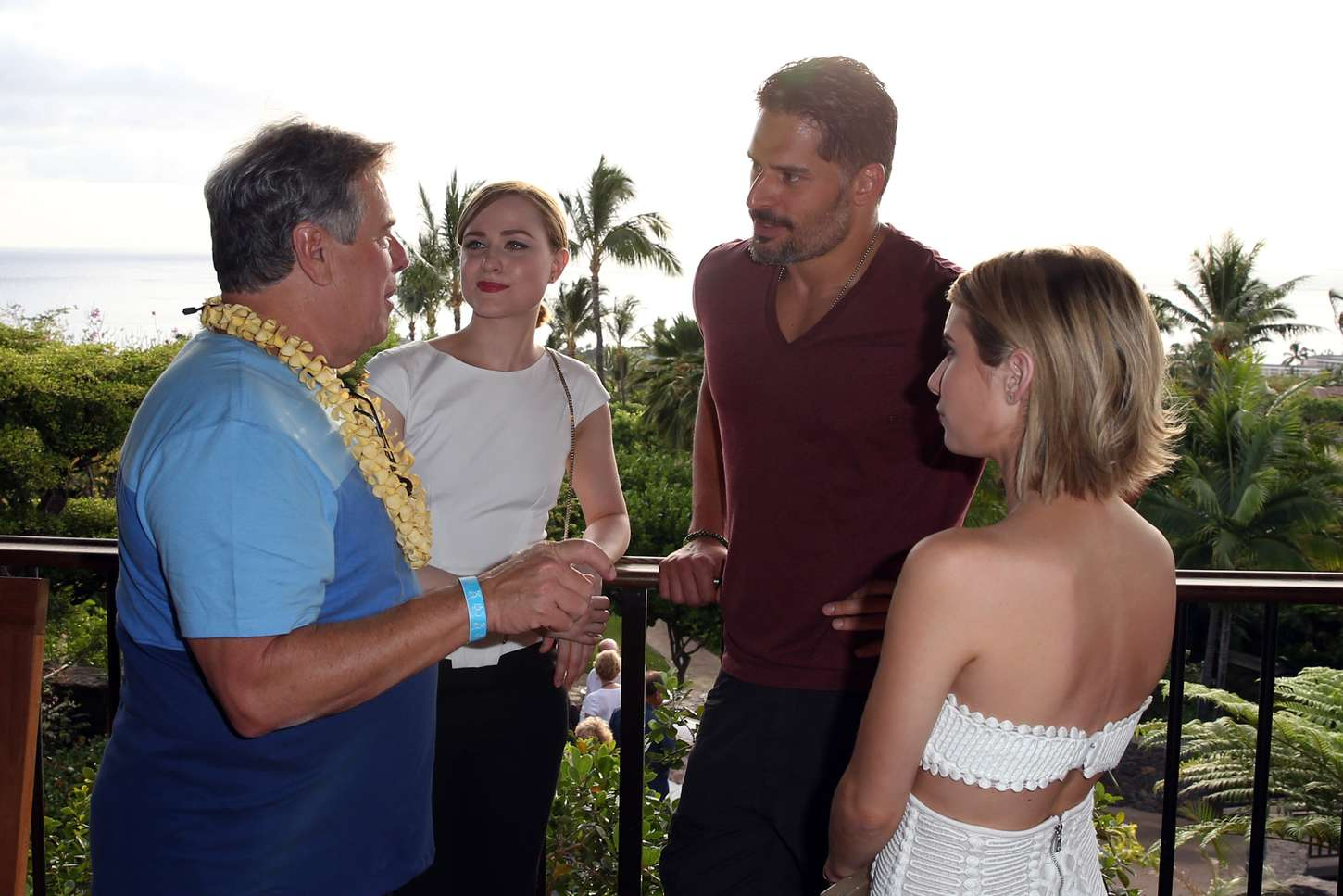 Evan Rachel Wood Opening Night Reception for the Maui Film Festival in Wailea