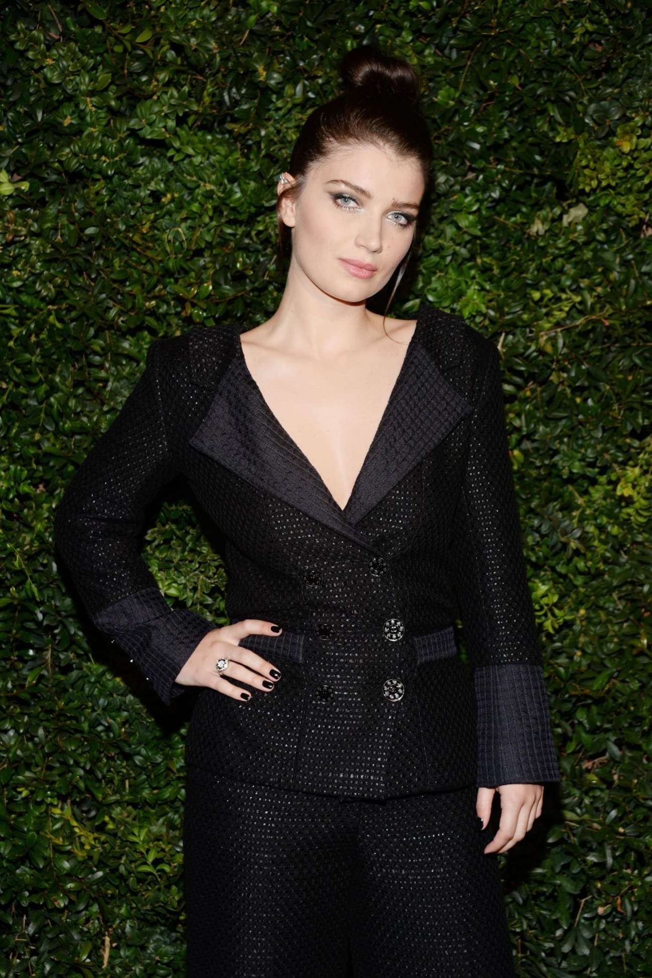 Eve Hewson Charles Finch and Chanel Pre-Oscar Dinner in Los Angeles