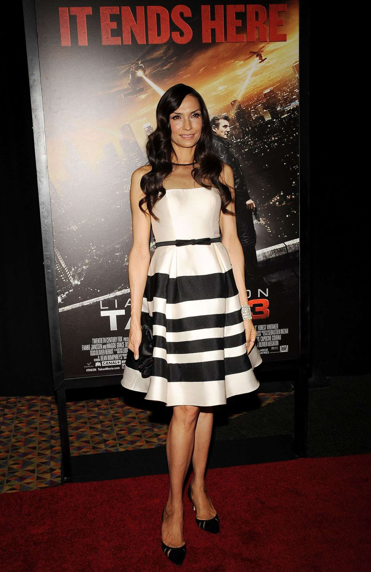 Famke Janssen Taken Fan Event Screening in New York