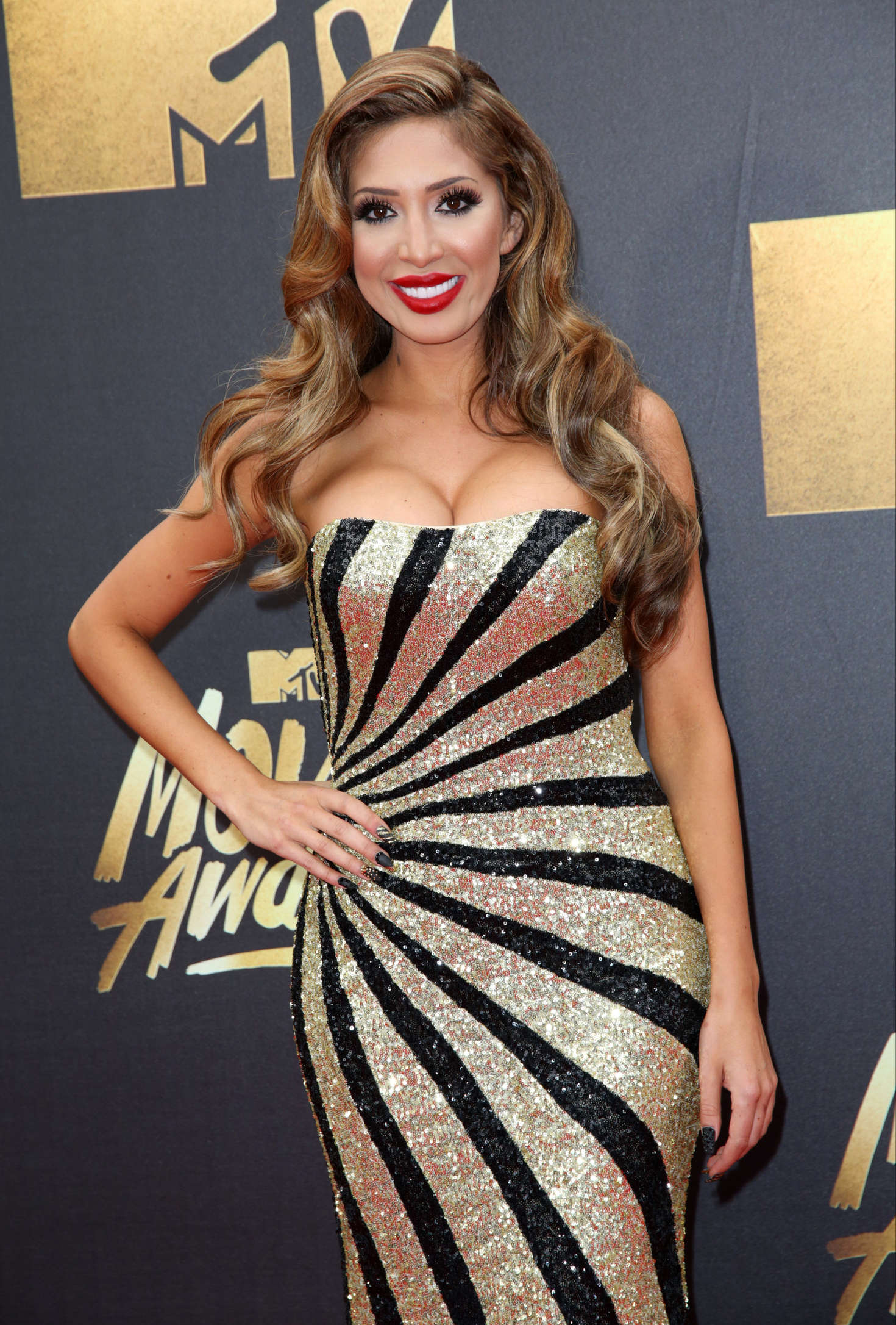 Farrah Abraham MTV Movie Awards in Burbank