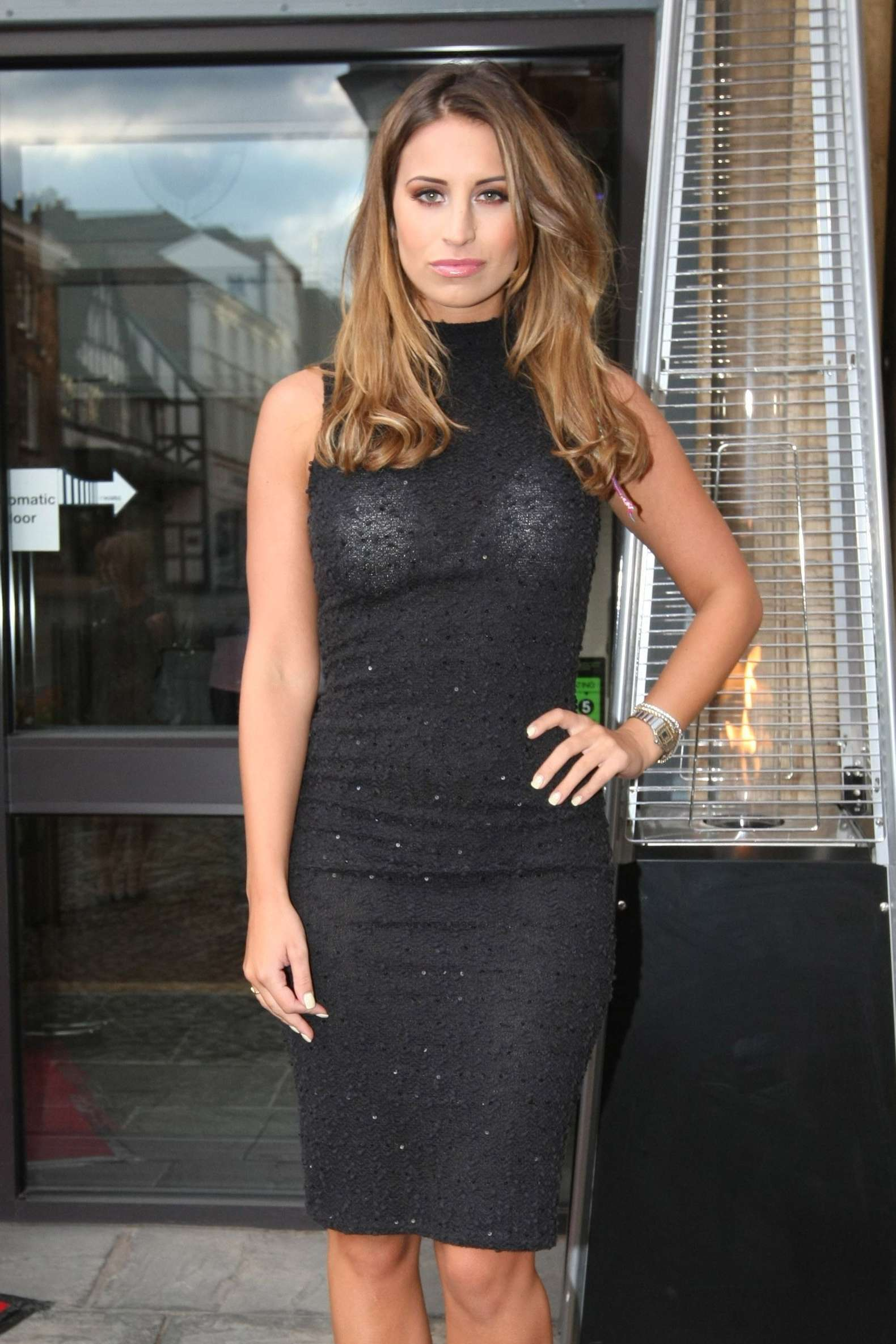 Ferne McCann At the Spar Cafe launch in London