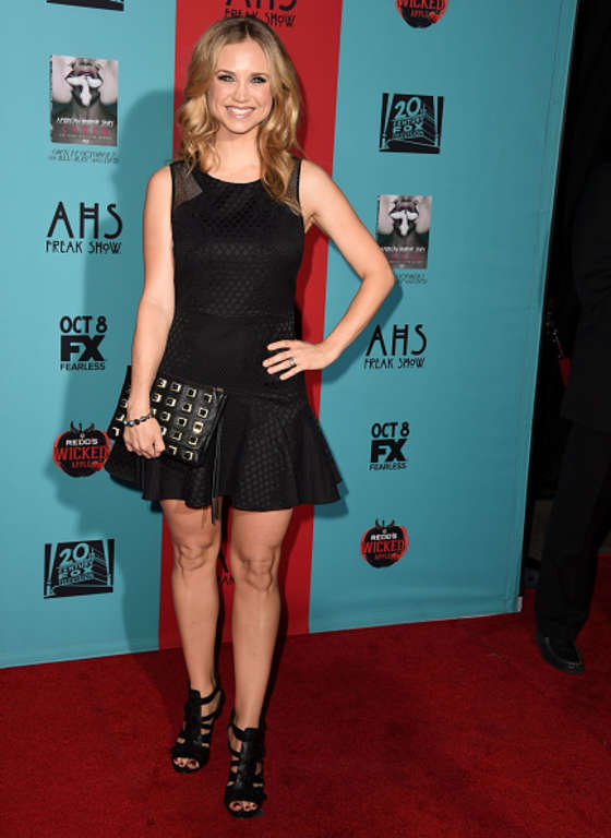 Fiona Gubelmann American Horror Story Freak Show Premiere in Hollywood