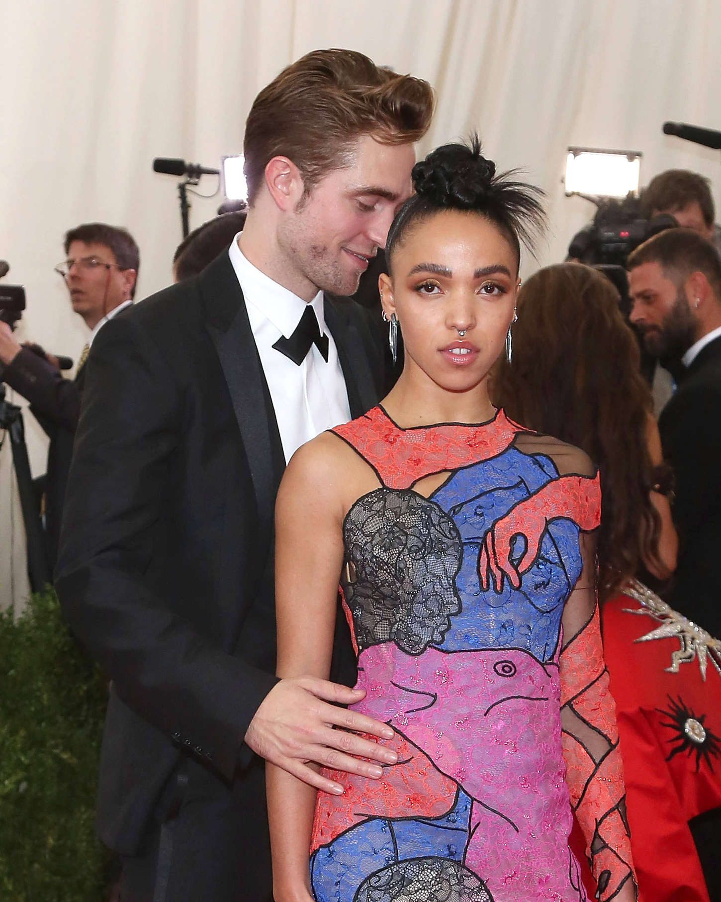 FKA Twigs China Through The Looking Glass Costume Institute Benefit Gala in New York
