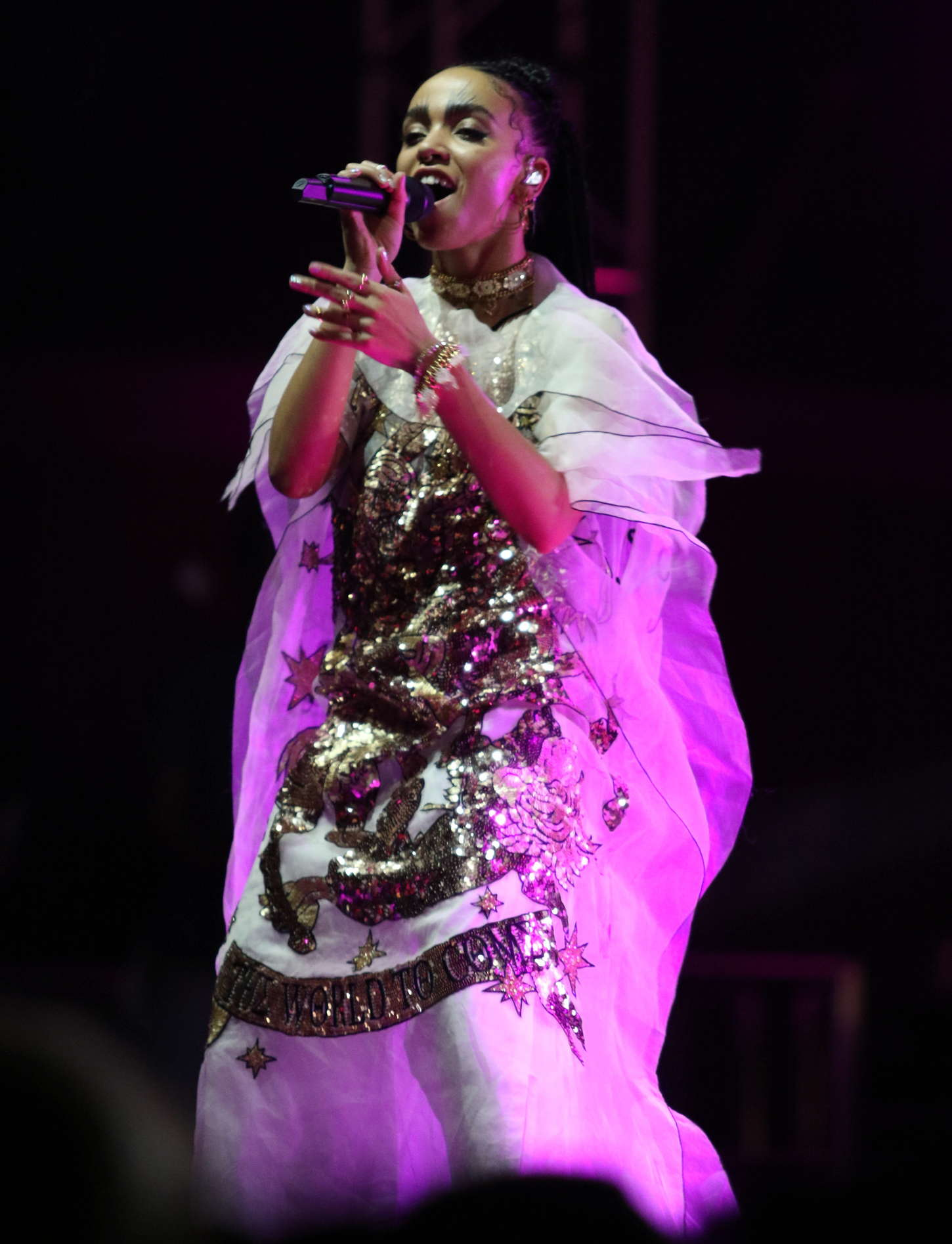 FKA Twigs Coachella Valley Music and Arts Festival Day in Indio