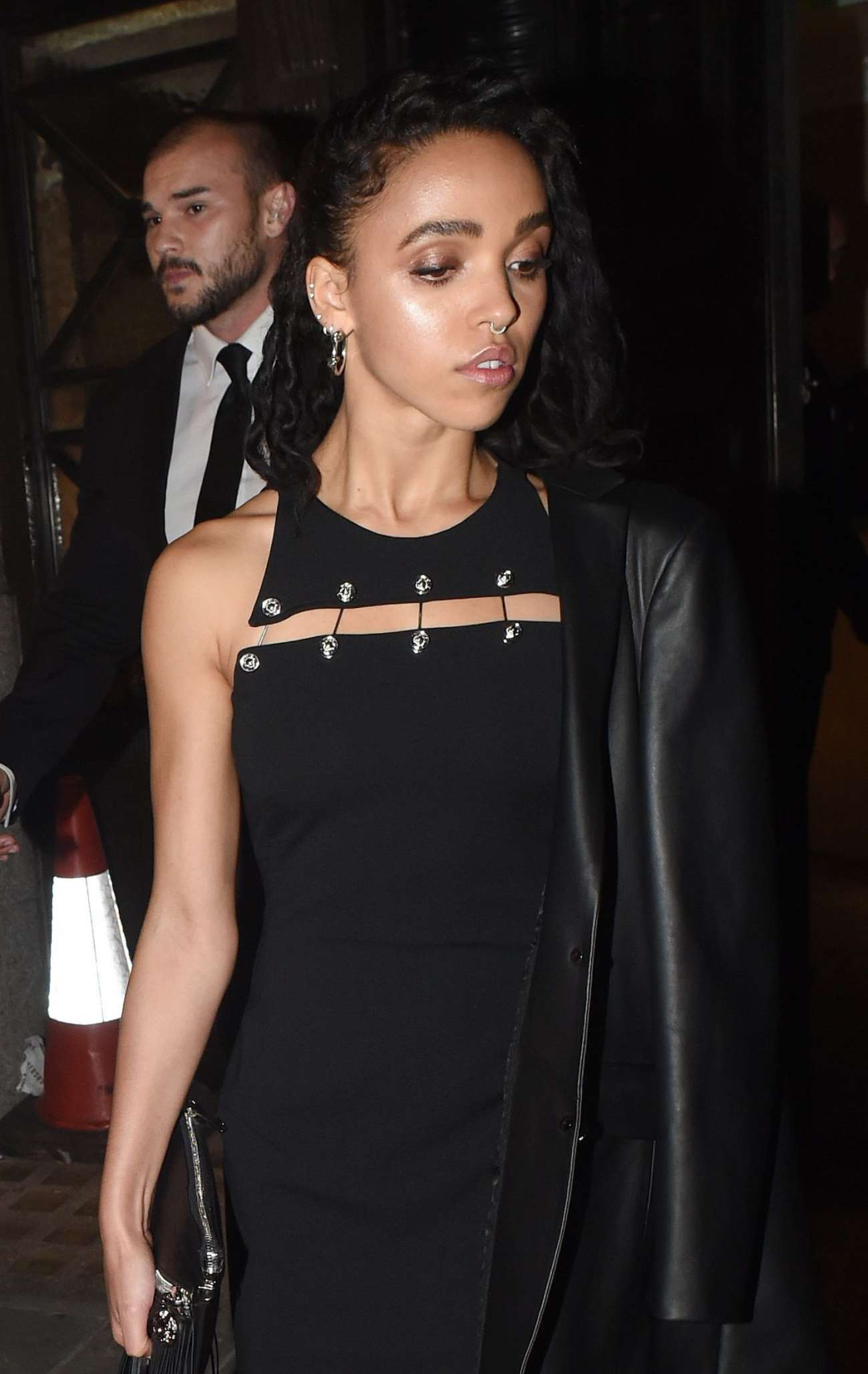 FKA Twigs Leaves Versace After Party in London