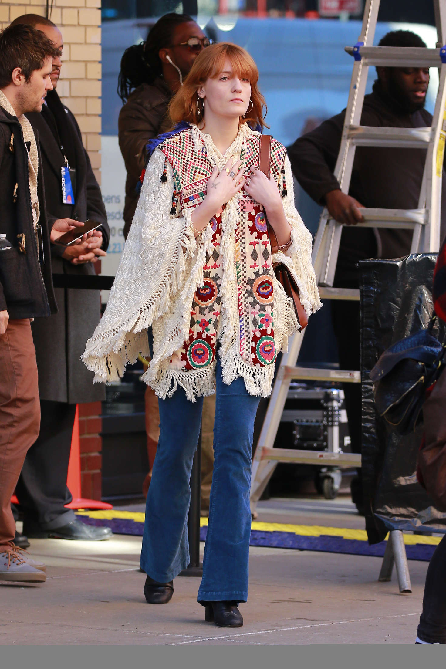 Florence Welch go out in New York City