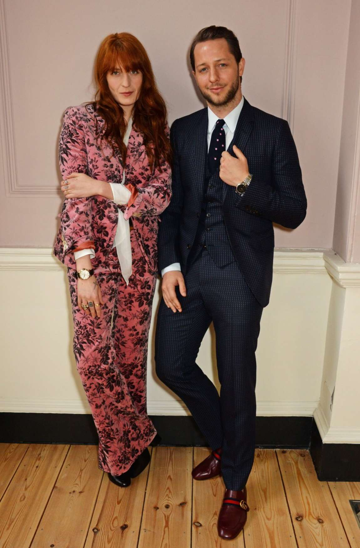 Florence Welch Gucci Timepieces And Jewelry Press Conference in London