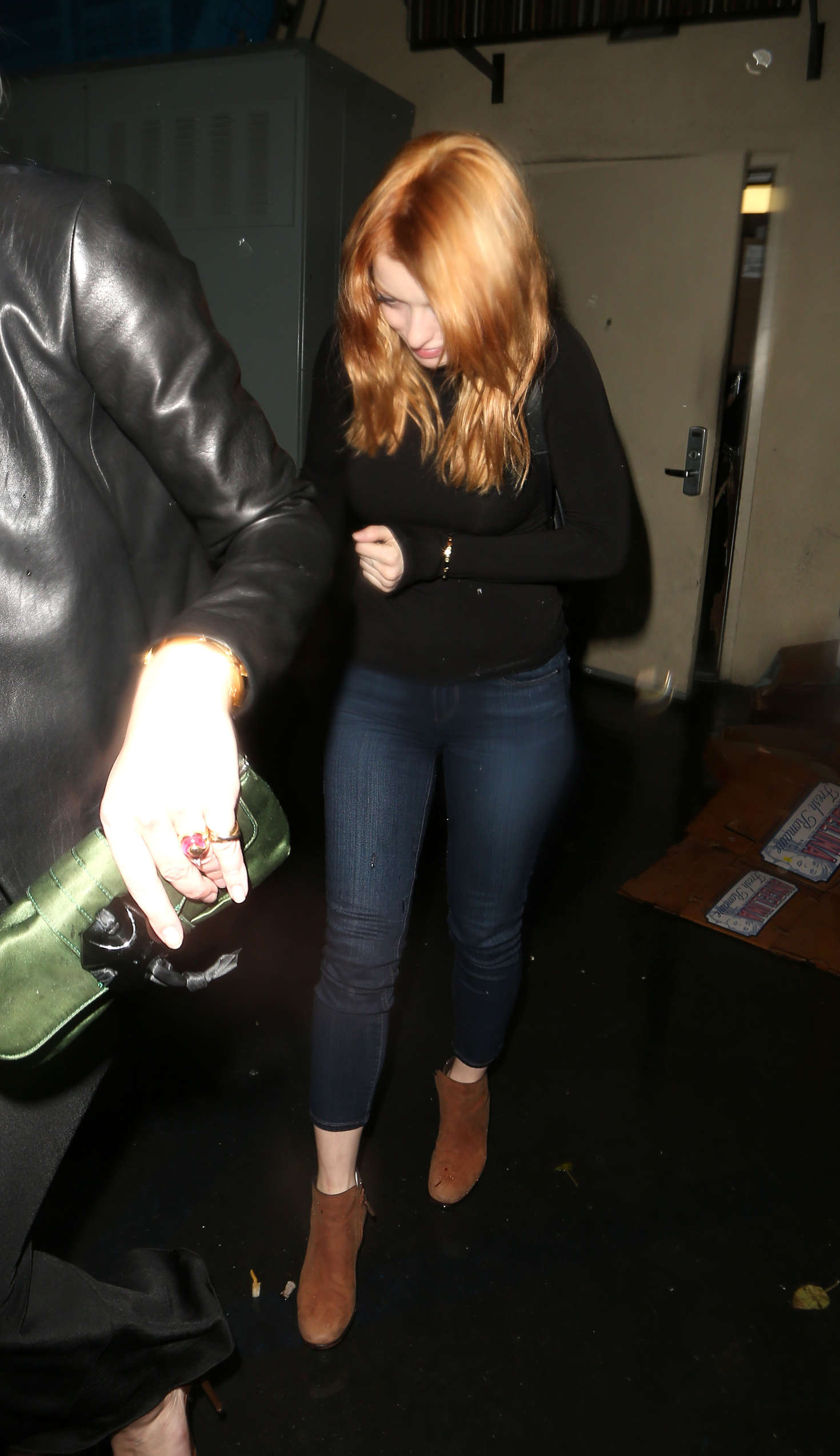 Francesca Eastwood Leaves The Palms Restaurant in Beverly Hills