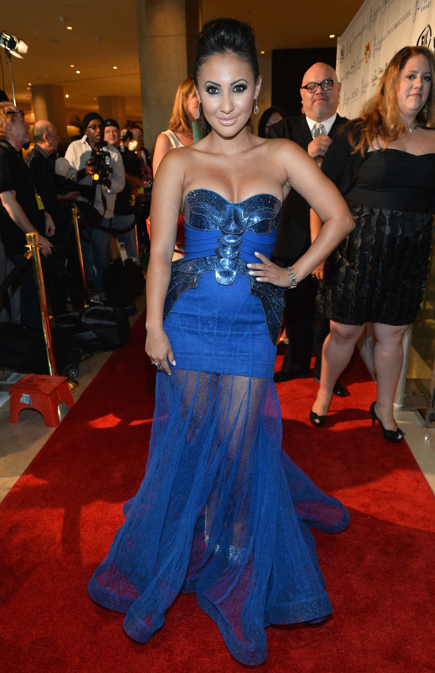Francia Raisa Annual Imagen Awards in Beverly Hills