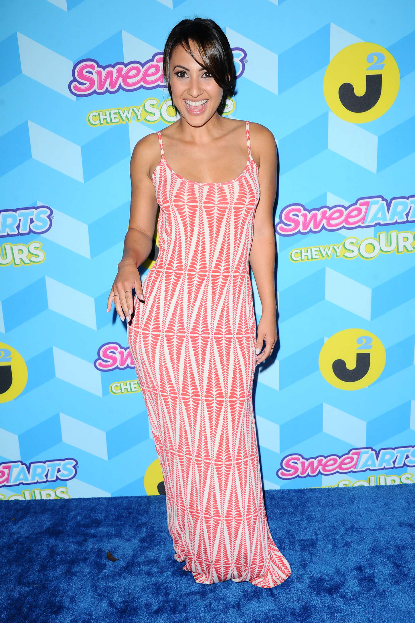 Francia Raisa Just Jared Summer Bash Pool Party in Hollywood