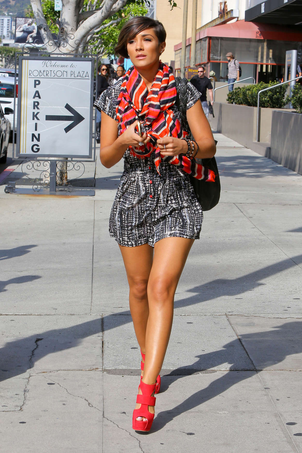 Frankie Sandford Out in Beverly Hills