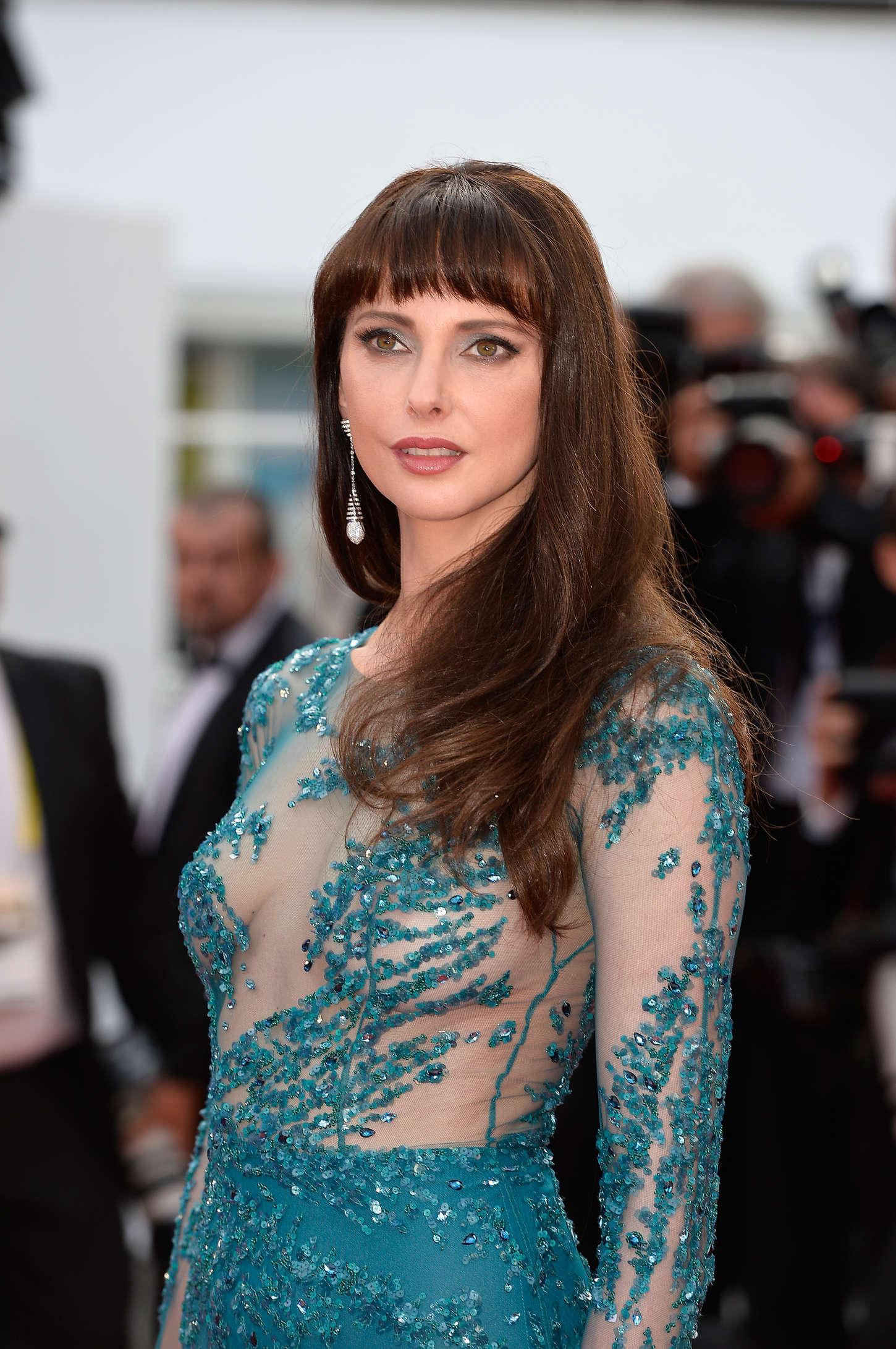 Frederique Bel La Tete Haute Premiere at Cannes Film Festival