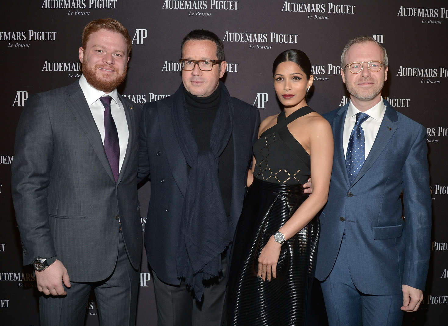 Freida Pinto Audemars Piguet Celebrates Grand Opening of Rodeo Drive Boutique in Los Angeles