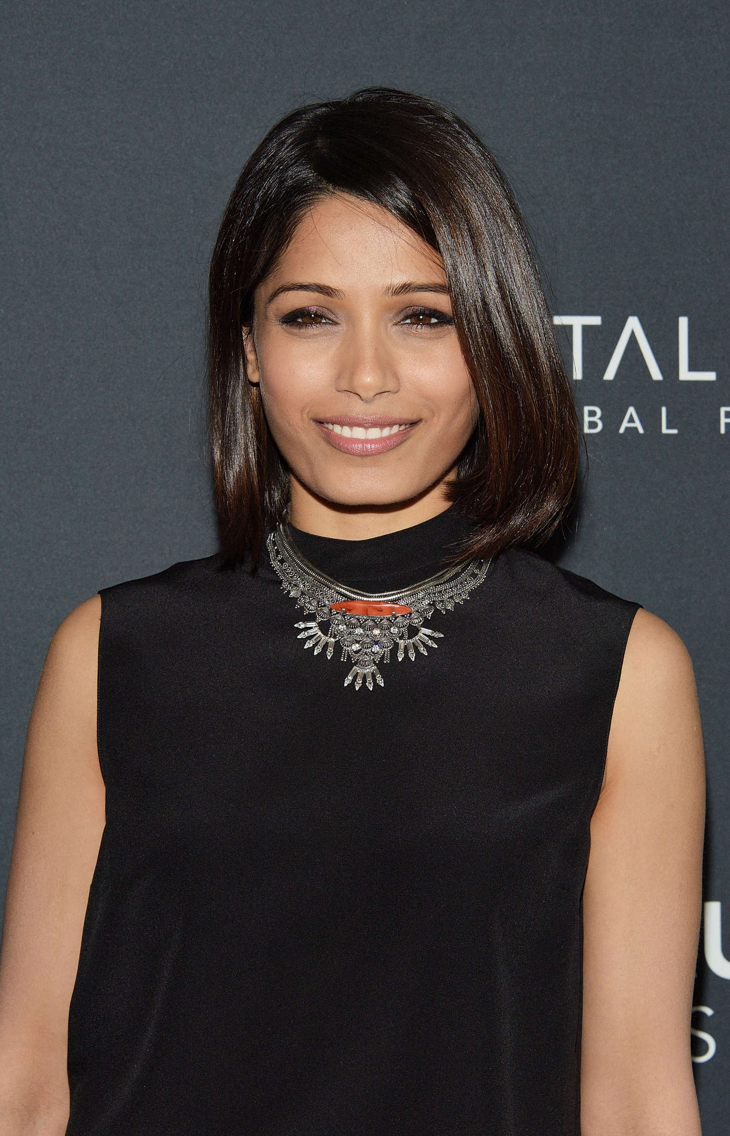 Freida Pinto Indias Daughter Screening in New York