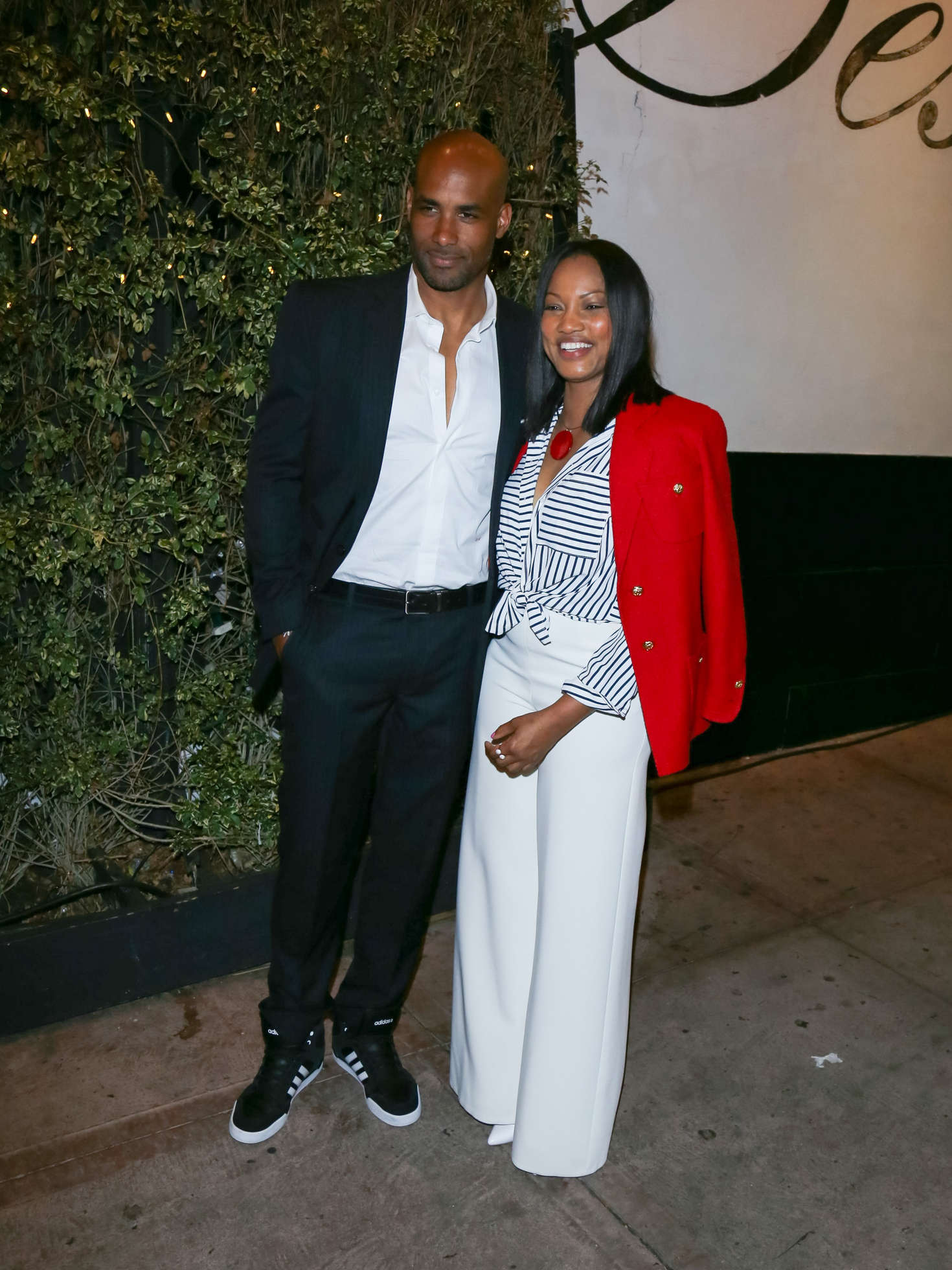 Garcelle Beauvais at a fundraising event at Beso in Los Angeles