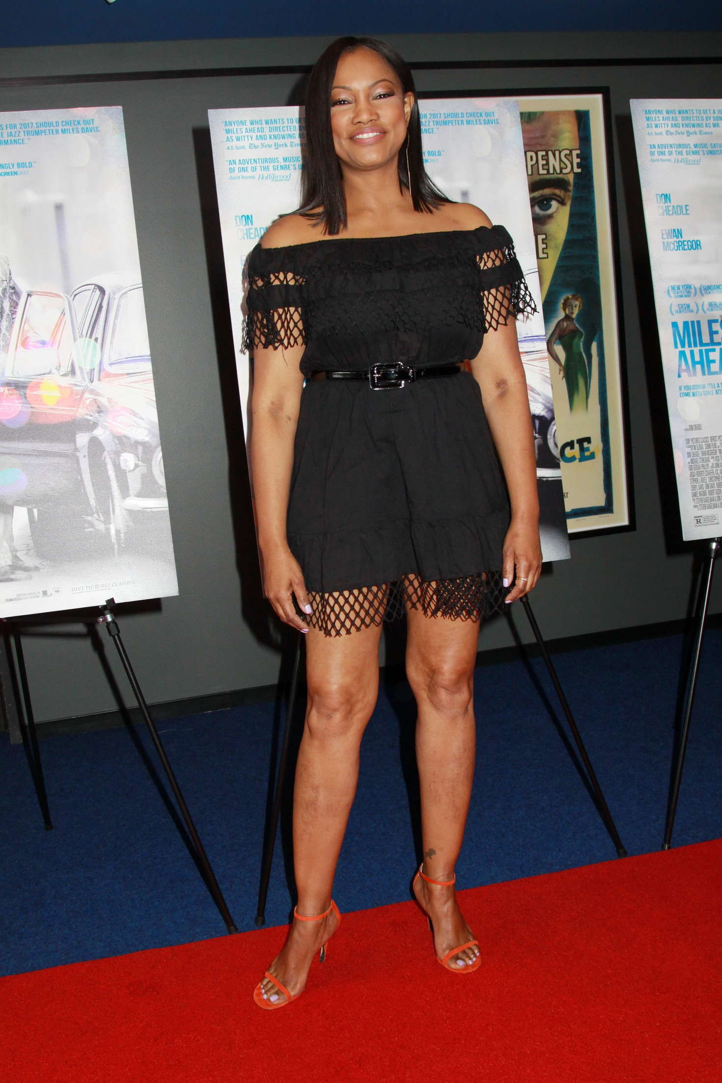 Garcelle Beauvais Miles Ahead Premiere in Los Angeles