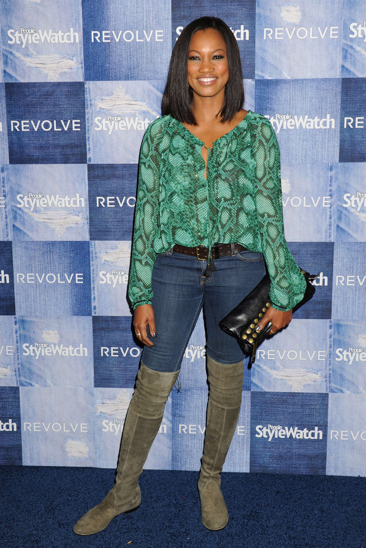 Garcelle Beauvais People StyleWatch Annual Denim Party in Los Angeles
