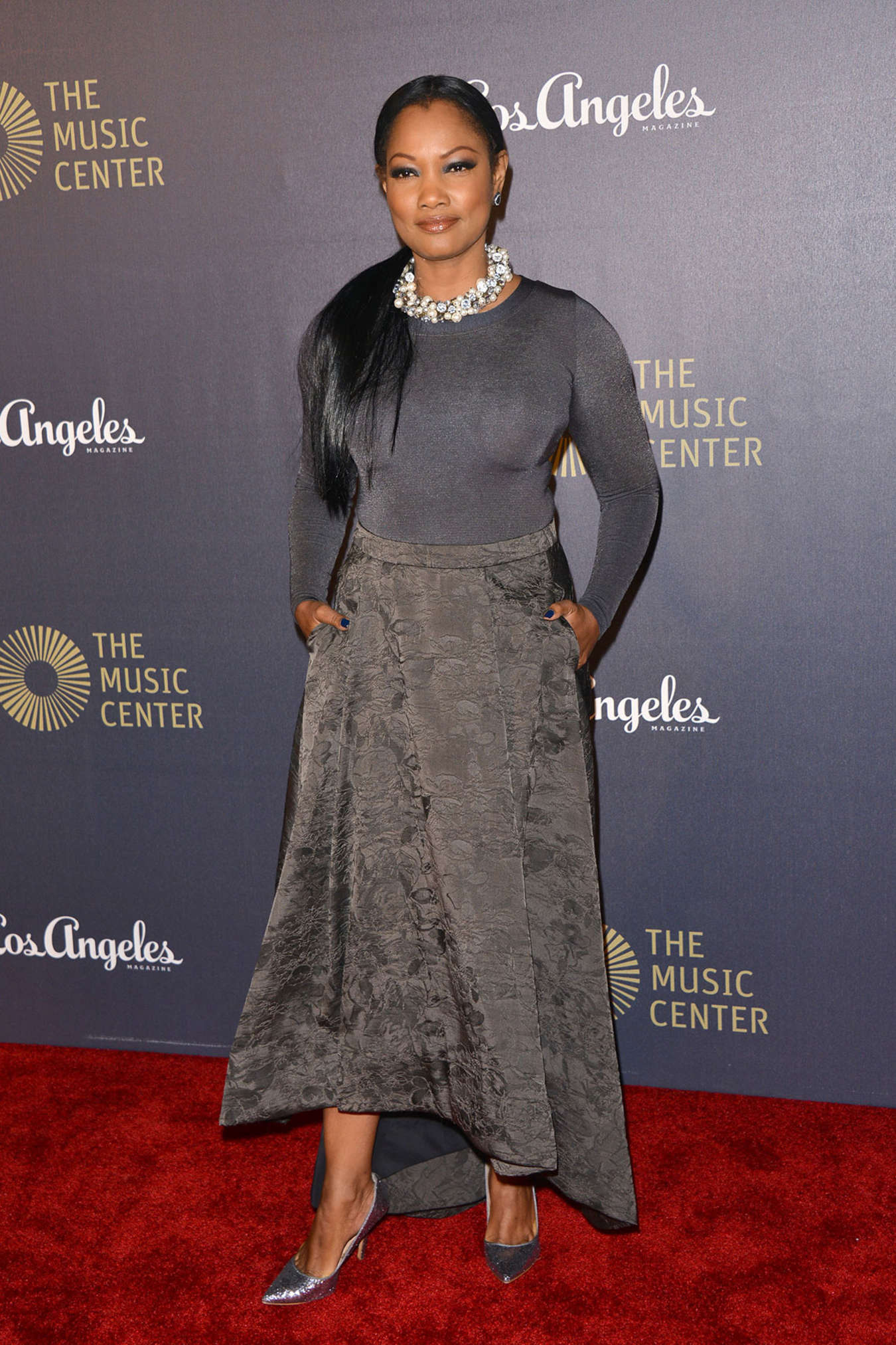 Garcelle Beauvais The Music Centers Anniversary Spectacular in Los Angeles