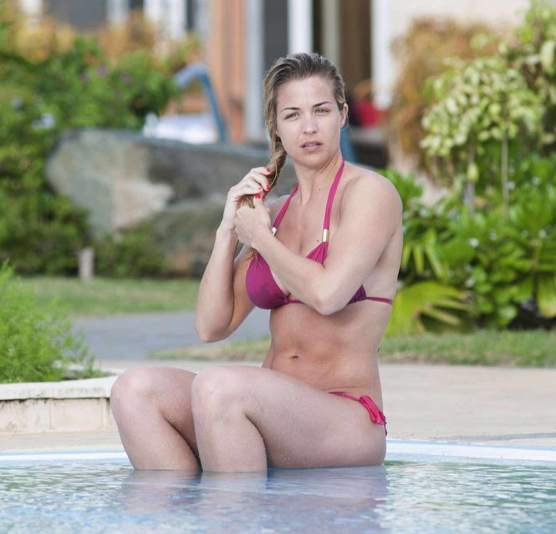 Gemma Atkinson Bikini Candids in Cuba