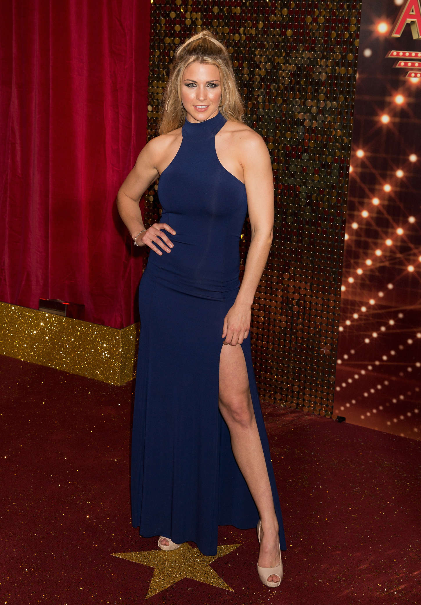 Gemma Atkinson British Soap Awards in Manchester