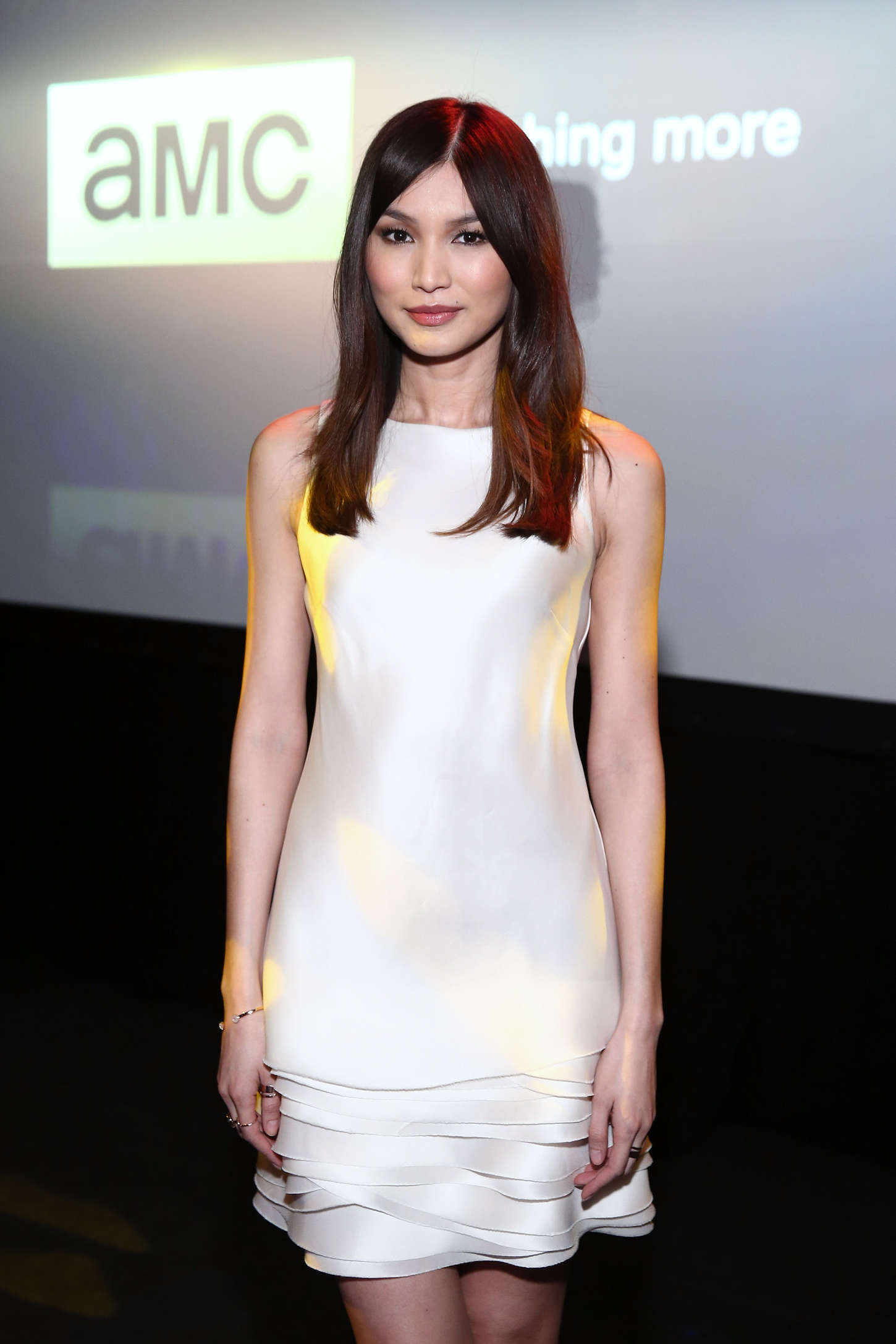 Gemma Chan AMC Ad Sales Celebrates The Walking Dead in New York
