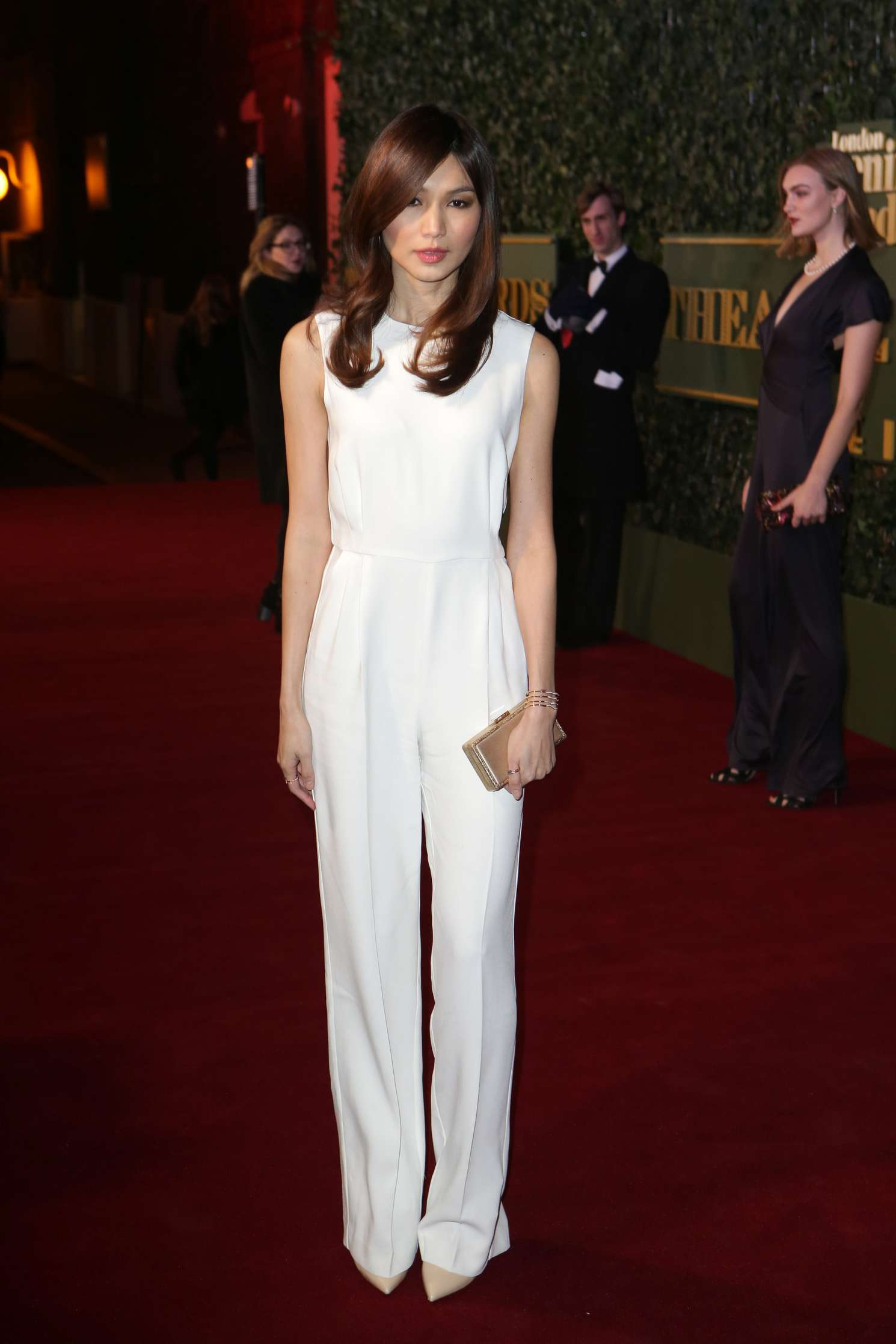 Gemma Chan Evening Standard Theatre Awards in London