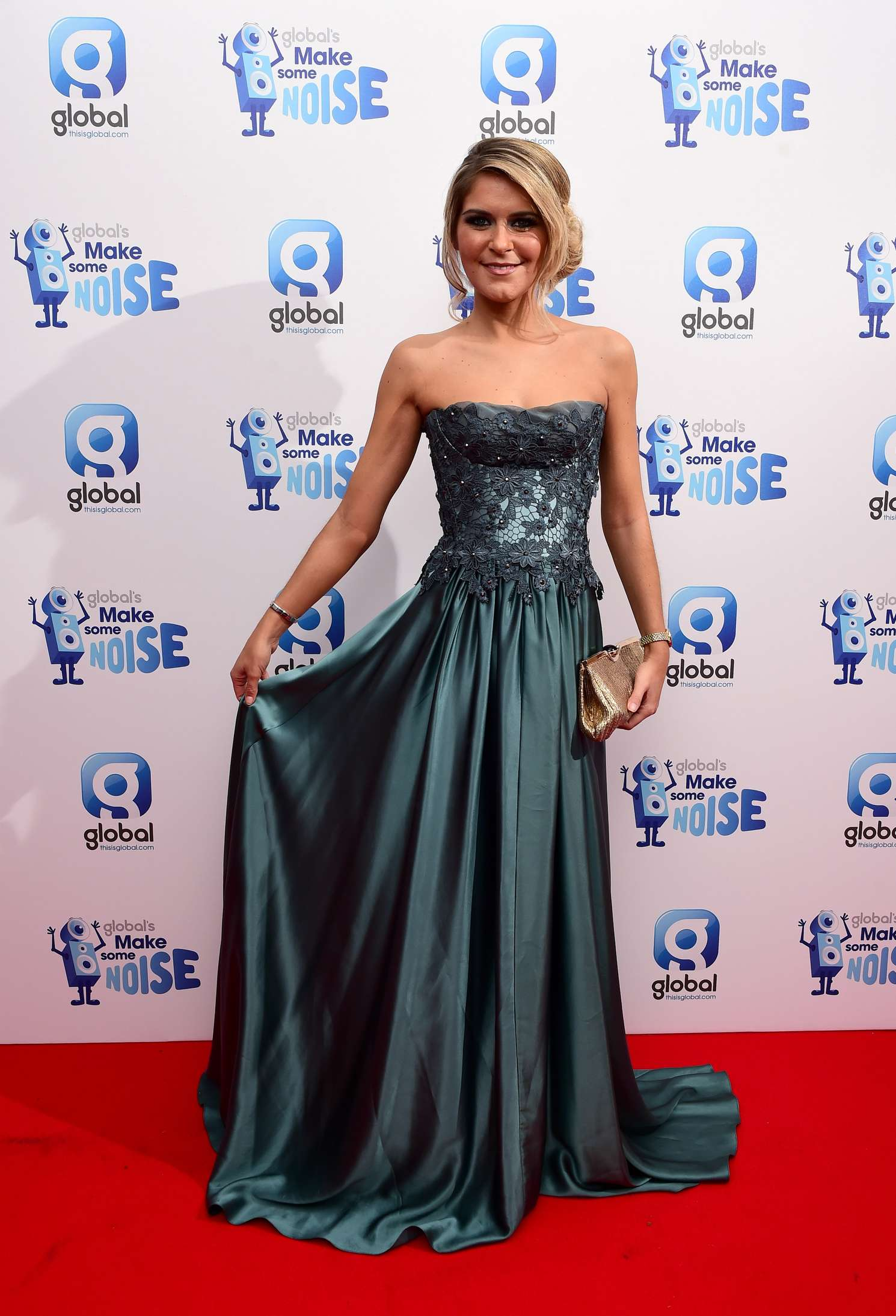 Gemma Oaten Globals Make Some Noise Gala in London
