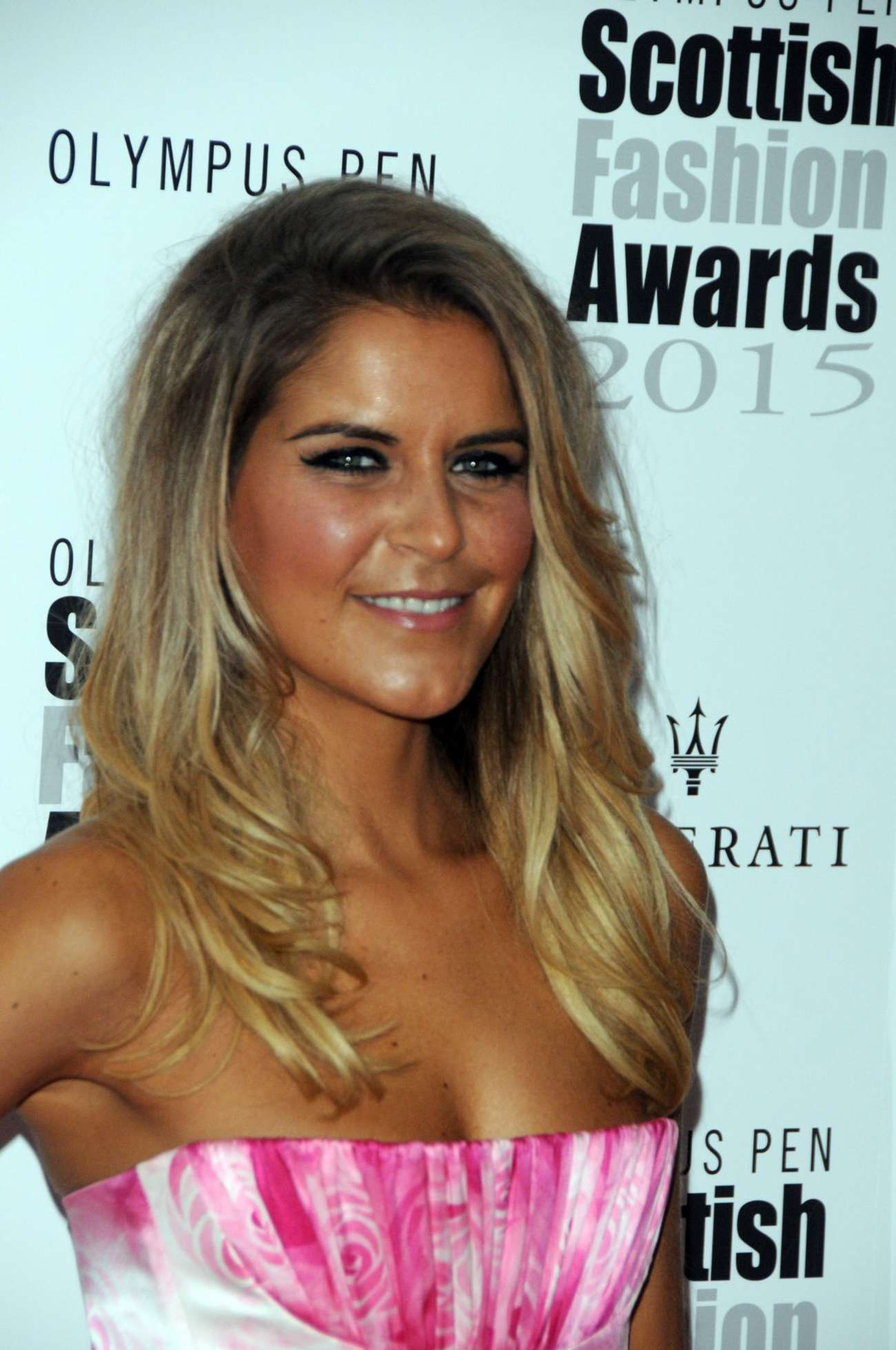 Gemma Oaten Scottish Fashion Awards in London