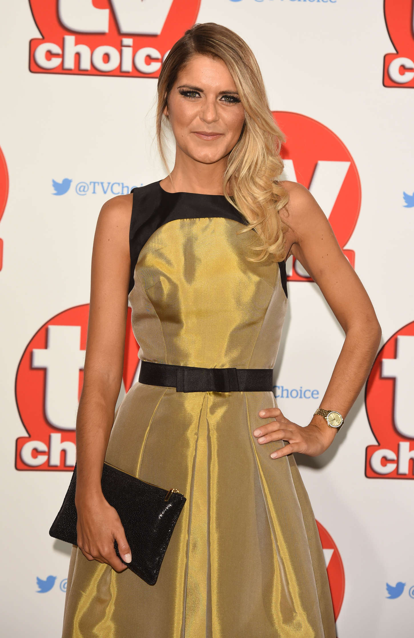 Gemma Oaten TV Choice Awards in London