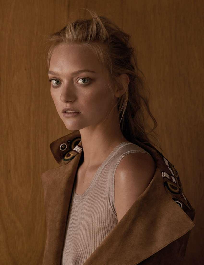 Gemma Ward Russh Magazine