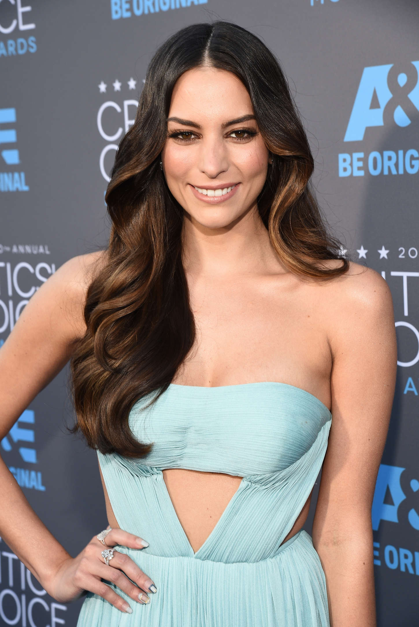 Genesis Rodriguez Annual Critics Choice Movie Awards in Los Angeles
