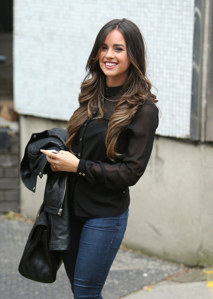 Georgia May Foote arrives at the London Studios-1
