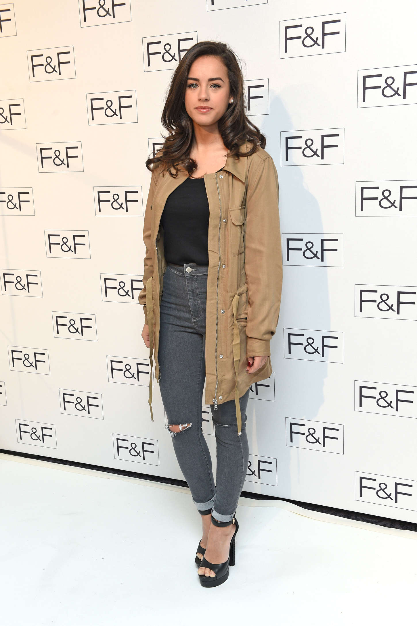 Georgia May Foote FF AW15 Salon Show in London
