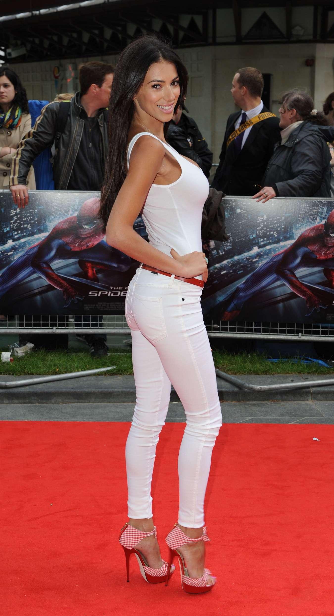 Georgia Salpa at The Amazing Spider-Man UK Premiere