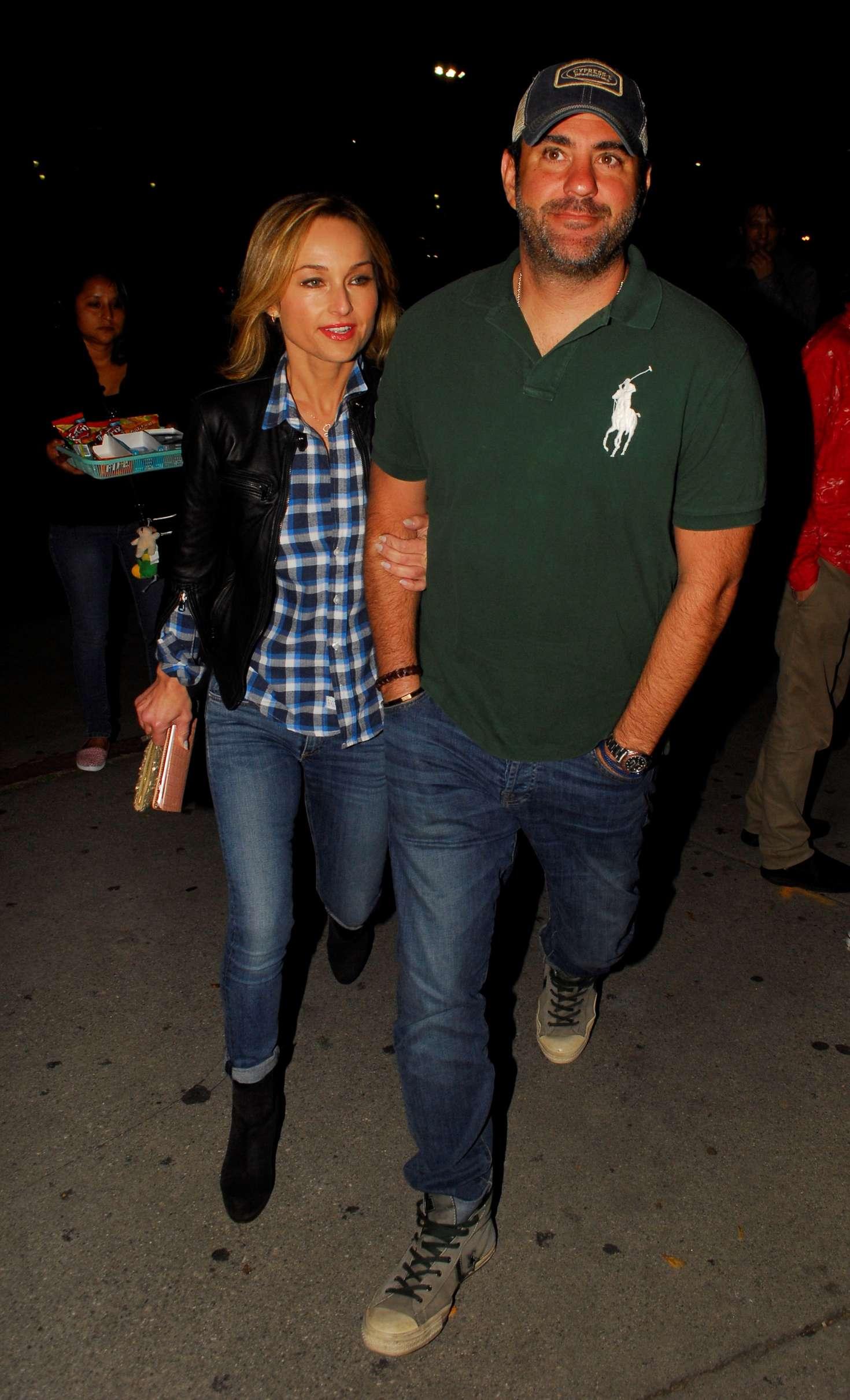 Giada De Laurentiis and boyfriend at the Bruce Springsteen Concert in Los Angeles