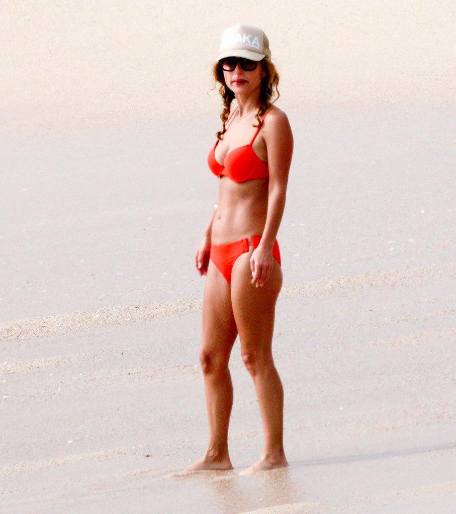 Giada De Laurentiis Wearing Bikini in Los Cabos