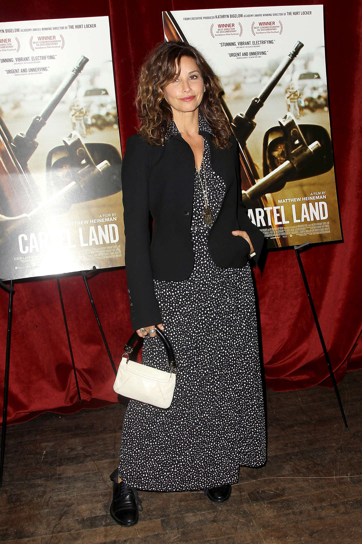 Gina Gershon Cartel Land Special Screening in New York