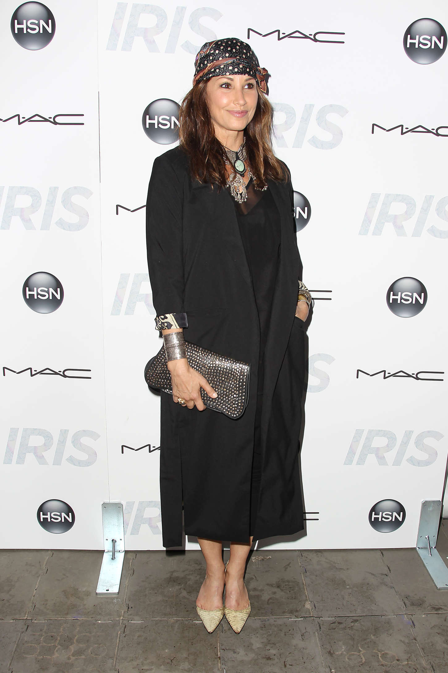 Gina Gershon Iris Premiere in New York