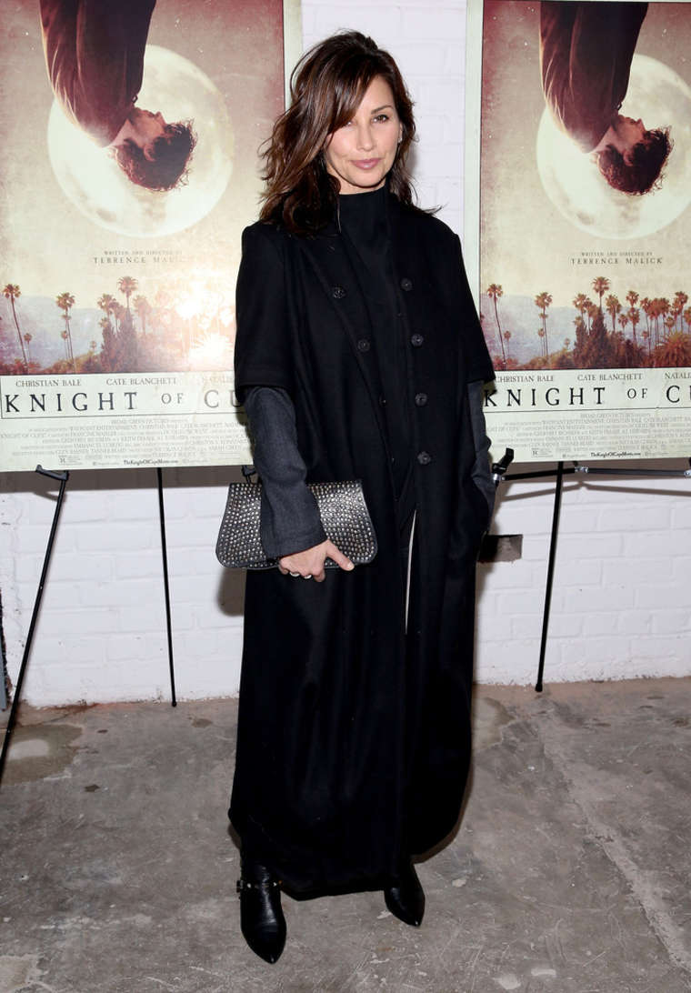 Gina Gershon Knight of Cups Screening in New York