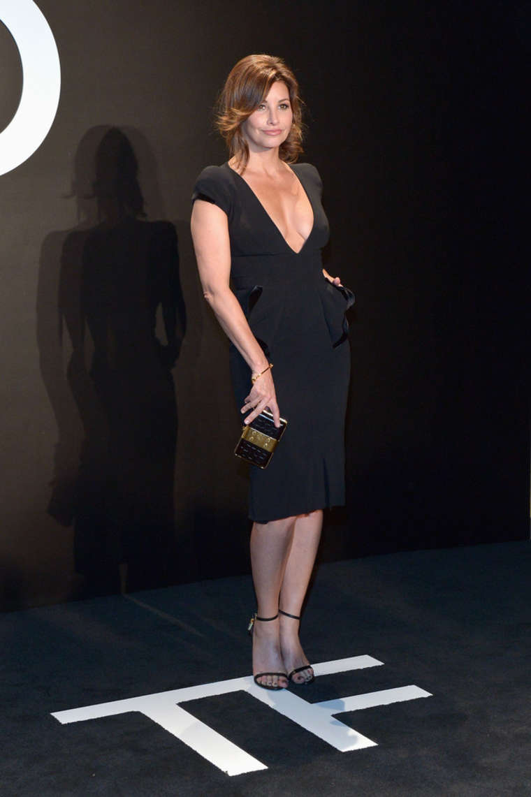 Gina Gershon Tom Ford A/W Womenswear Collection Presentation in Los Angeles