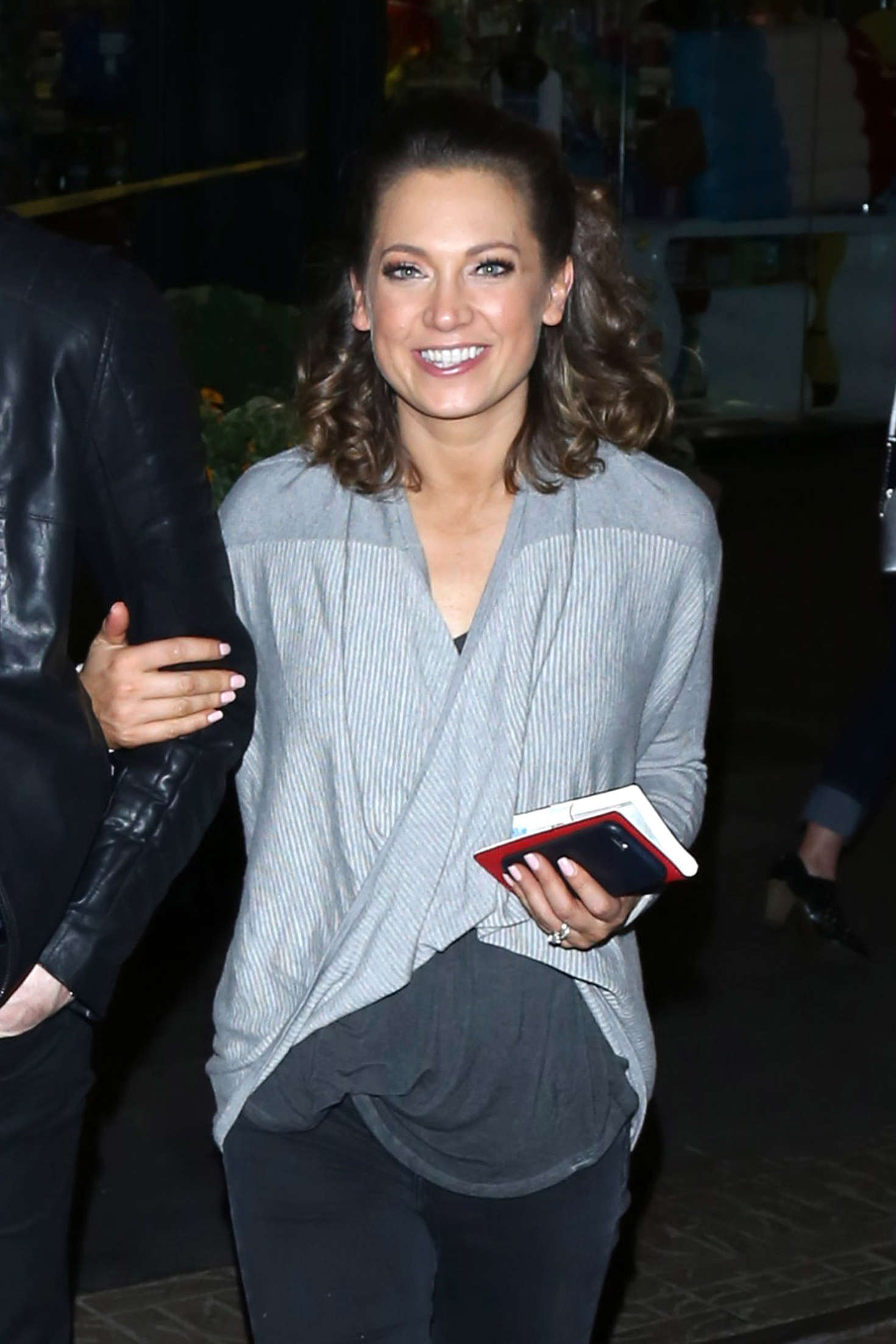 Ginger Zee Heads to Mixology101 after DWTS Competition in Los Angeles