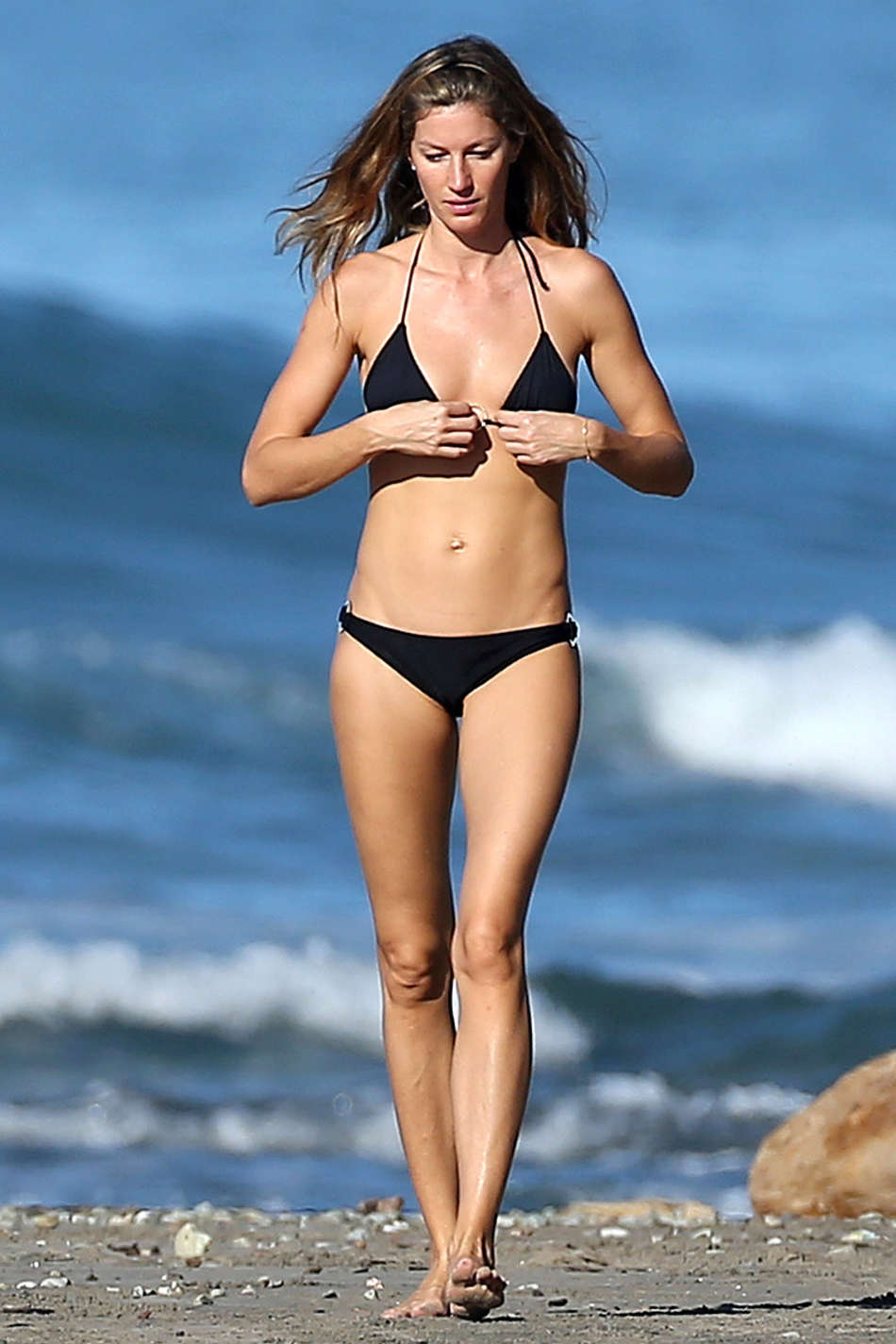 Gisele Bundchen Wearing Bikini in Costa Rica