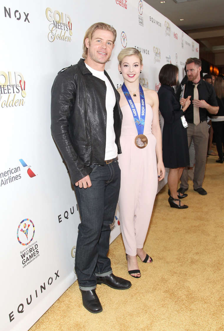 Gracie Gold CW3PR Presents Gold Meets Golden at Equinox Sports Club in Los Angeles