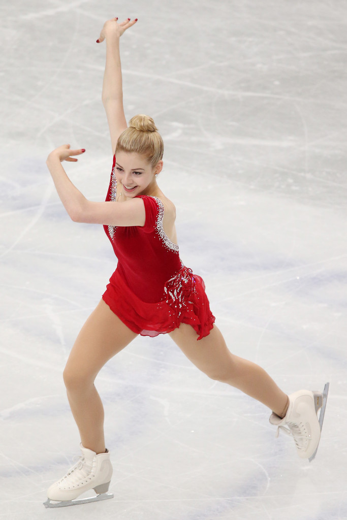 Gracie Gold ISU World Figure Skating Championships in Saitama